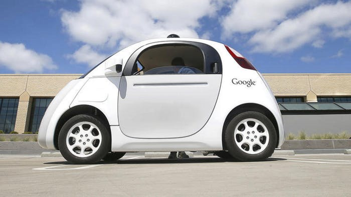 Google's self-driving car.