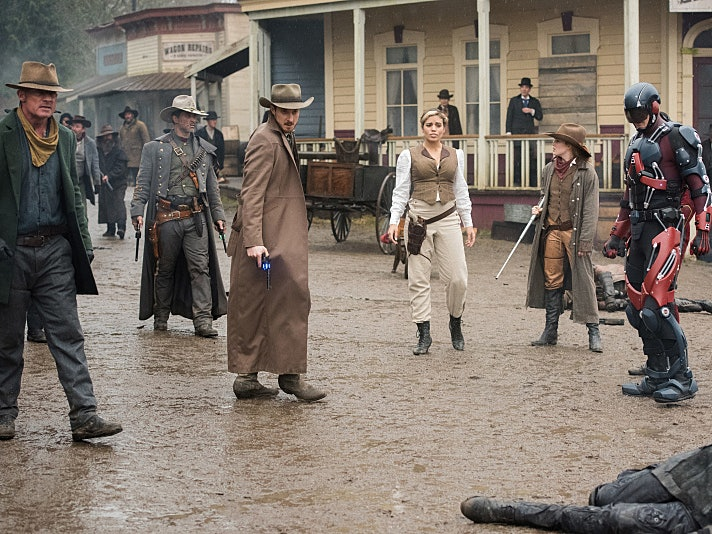 DC's 'Legends of Tomorrow' Goes Wild in the West with Jonah Hex