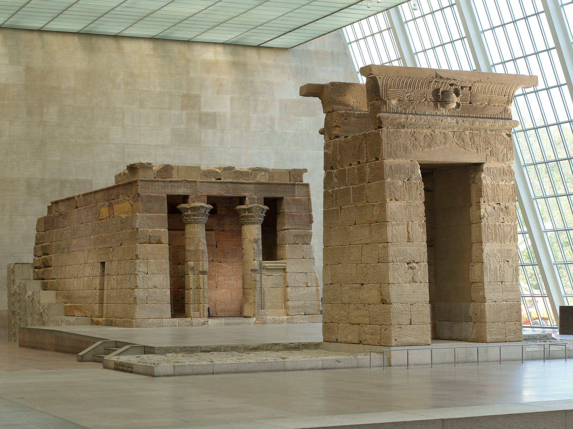 Temple of dendur, met, museum
