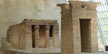 Temple of dendur, met, museum