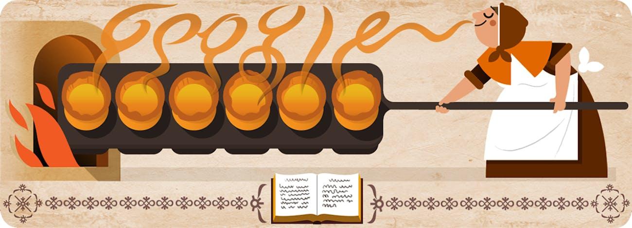 Hannah Glasse Google Doodle