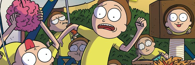 There's even a Morty Snorlax rip-off.