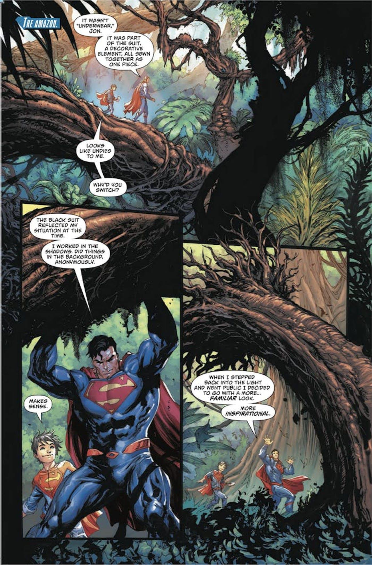 Action Comics Superman Costume