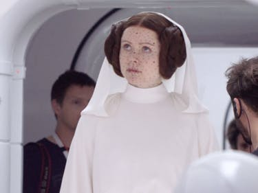 Here's What Princess Leia Looked Like in 'Rogue One' Before CGI