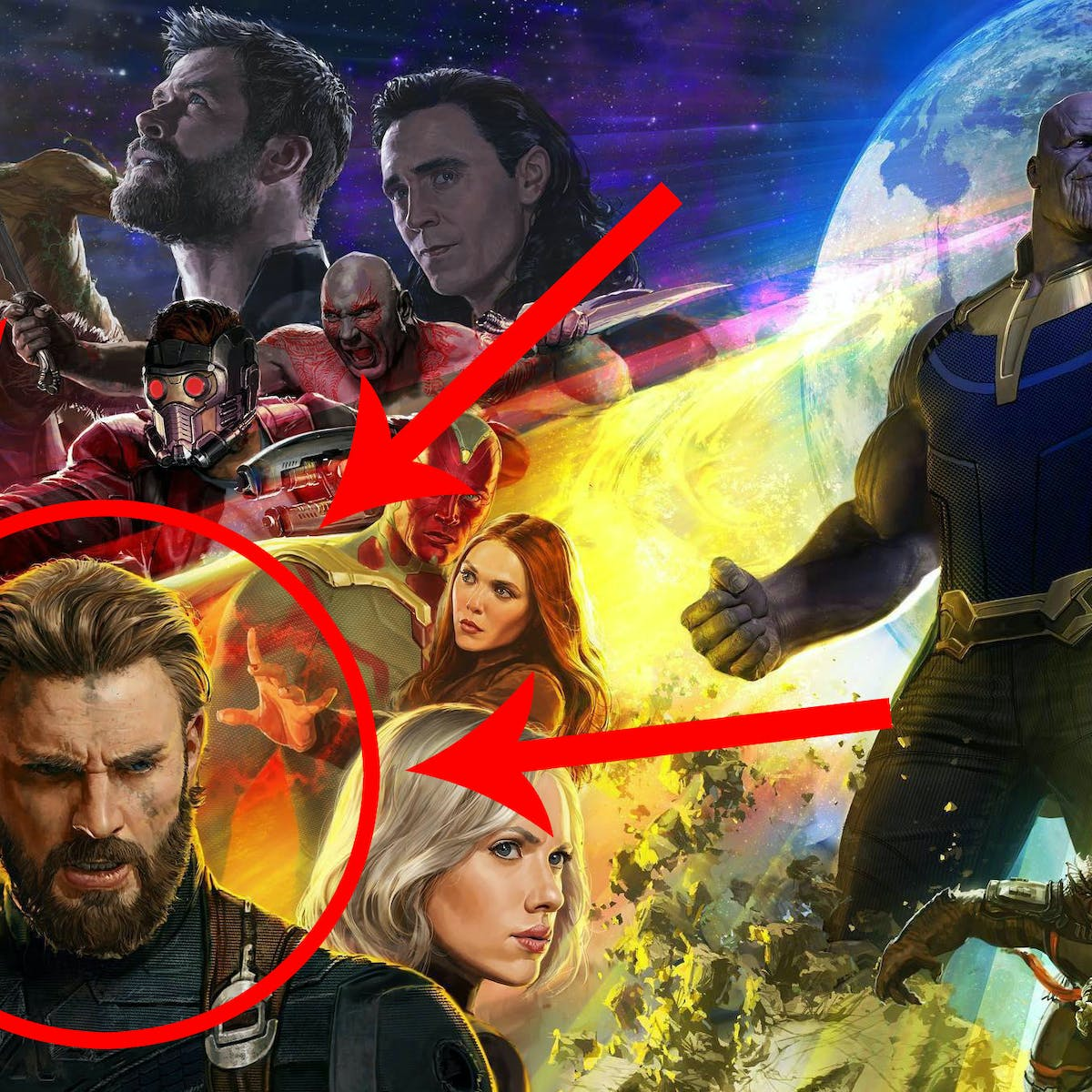 What's Up With Captain America (and His Beard) in 'Infinity War