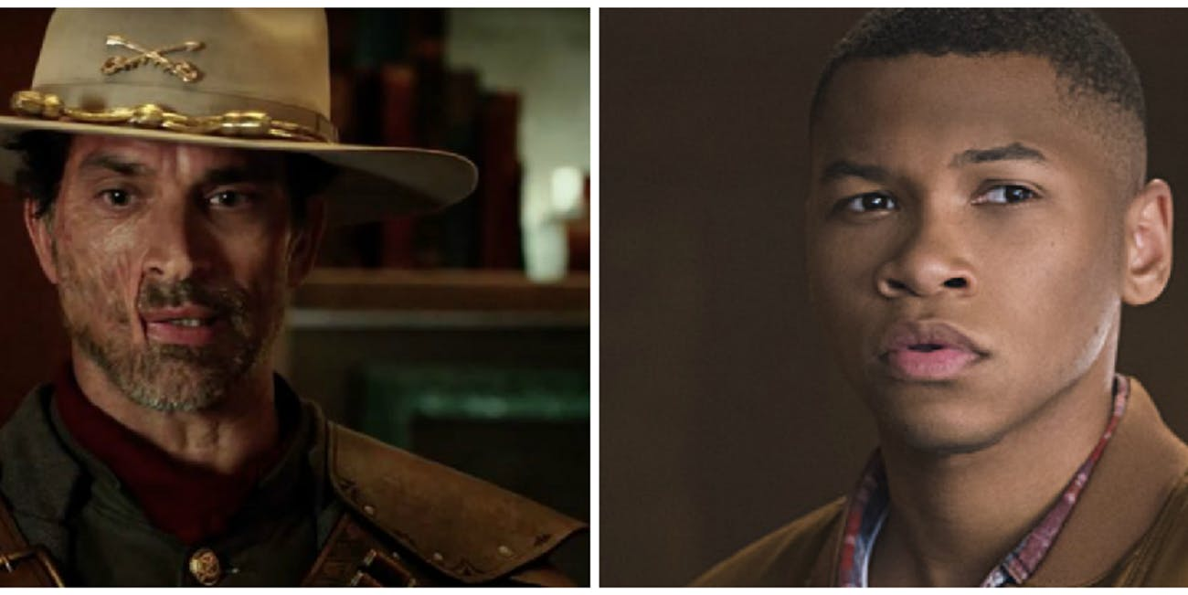 "Jonah Hex and Jefferson ""Jax"" Jackson on 'Legends of Tomorrow'"