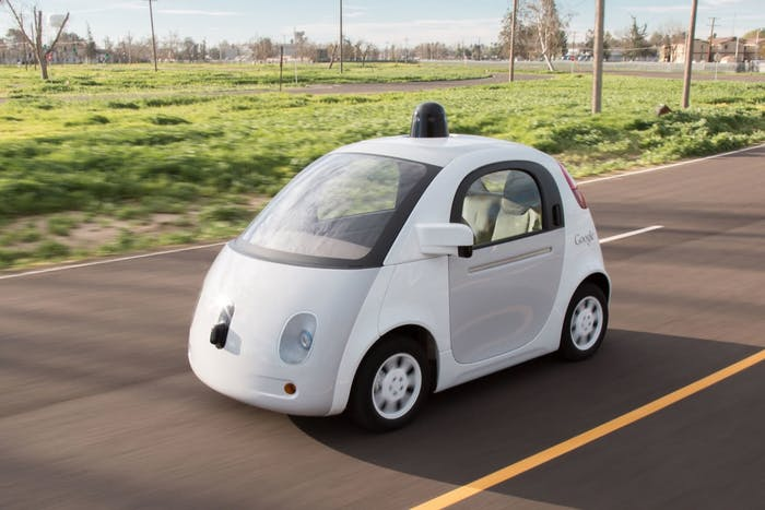 Google's prototype self-driving car. Will cars that look like this fill the highways?