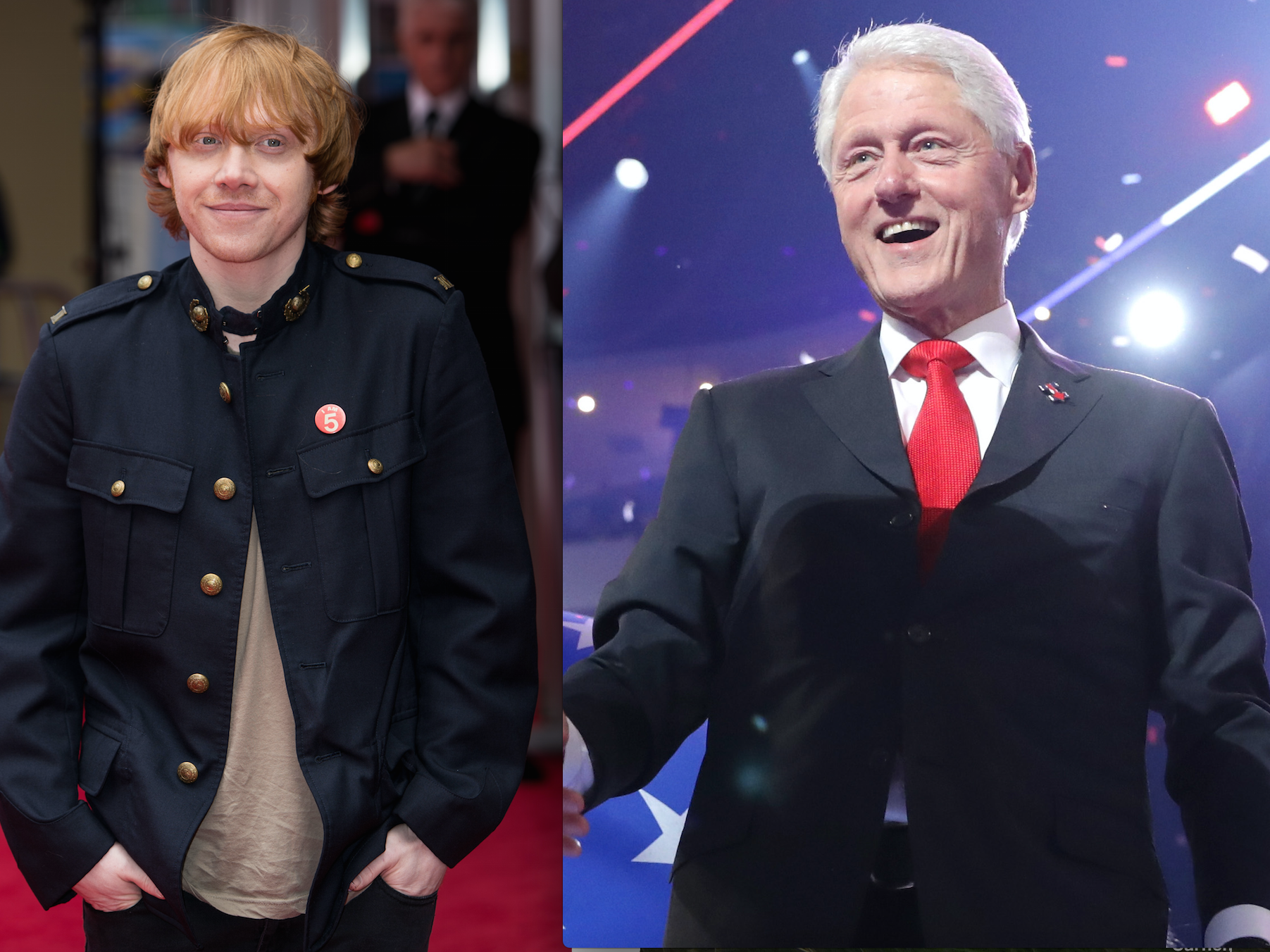 "Bill Clinton Should Learn ""First Man"" from Ron Weasley"