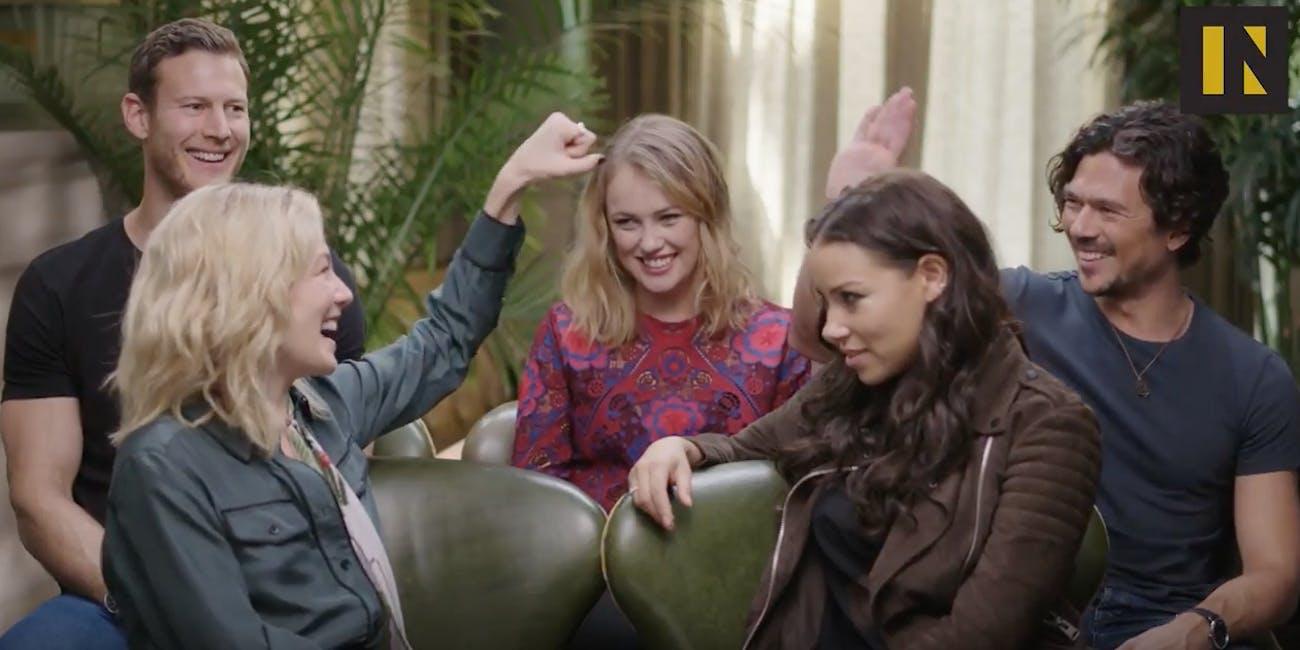 The Black Sails cast talk Season 4: Billy Bones, Eleanor Gutherie, John Silver, Max, and Anne Bonny