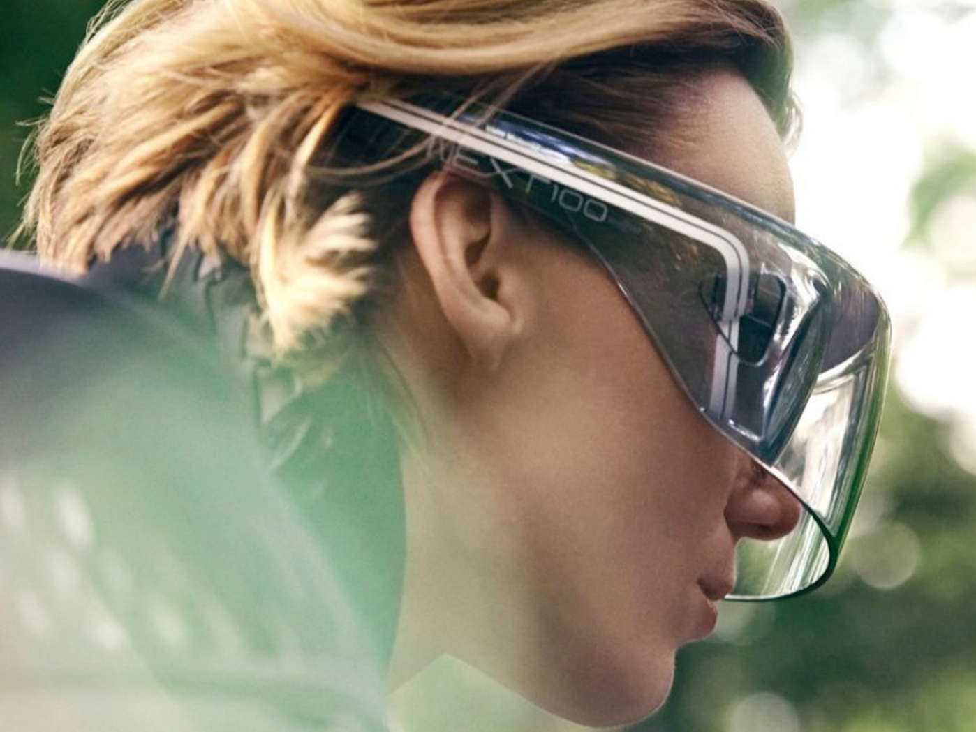Simply put on these glasses and let the motorcycle do (most of) the work.