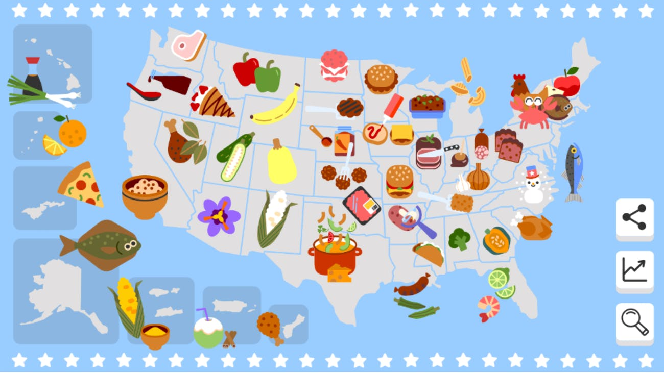 google doodle fourth of July