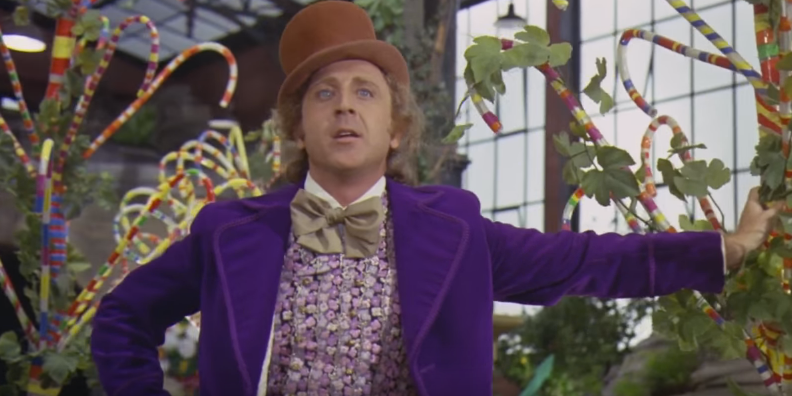 Gene Wilder in 'Willy Wonka and the Chocolate Factory'