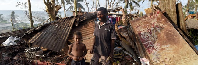 Rising sea levels have caused many inhabitants of Tuvalu to evacuate.