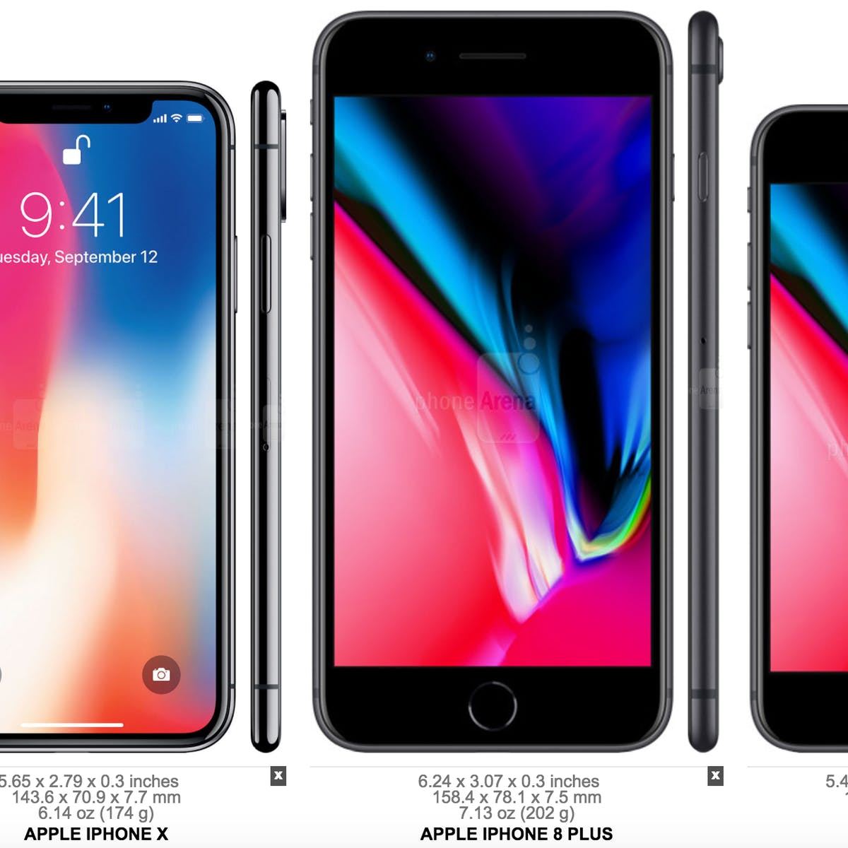 the latest e0a4d f781e iPhone X: How Does Its Size Compare to Earlier iPhones? | Inverse