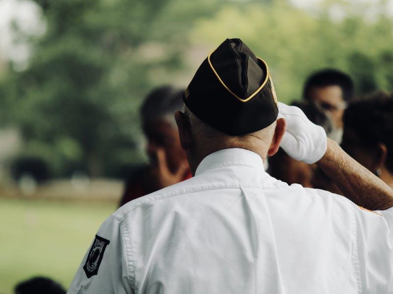 A veteran.