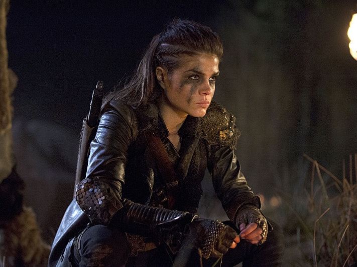 Octavia Is the Main Badass on 'The 100'
