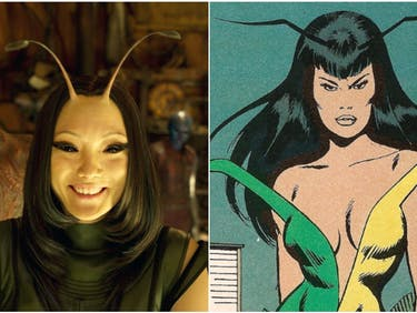The Guy Who Created Mantis Wasn't Happy With Her in 'Guardians 2'