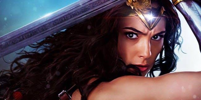 Gal Gadot as Wonder Woman in 'Wonder Woman'