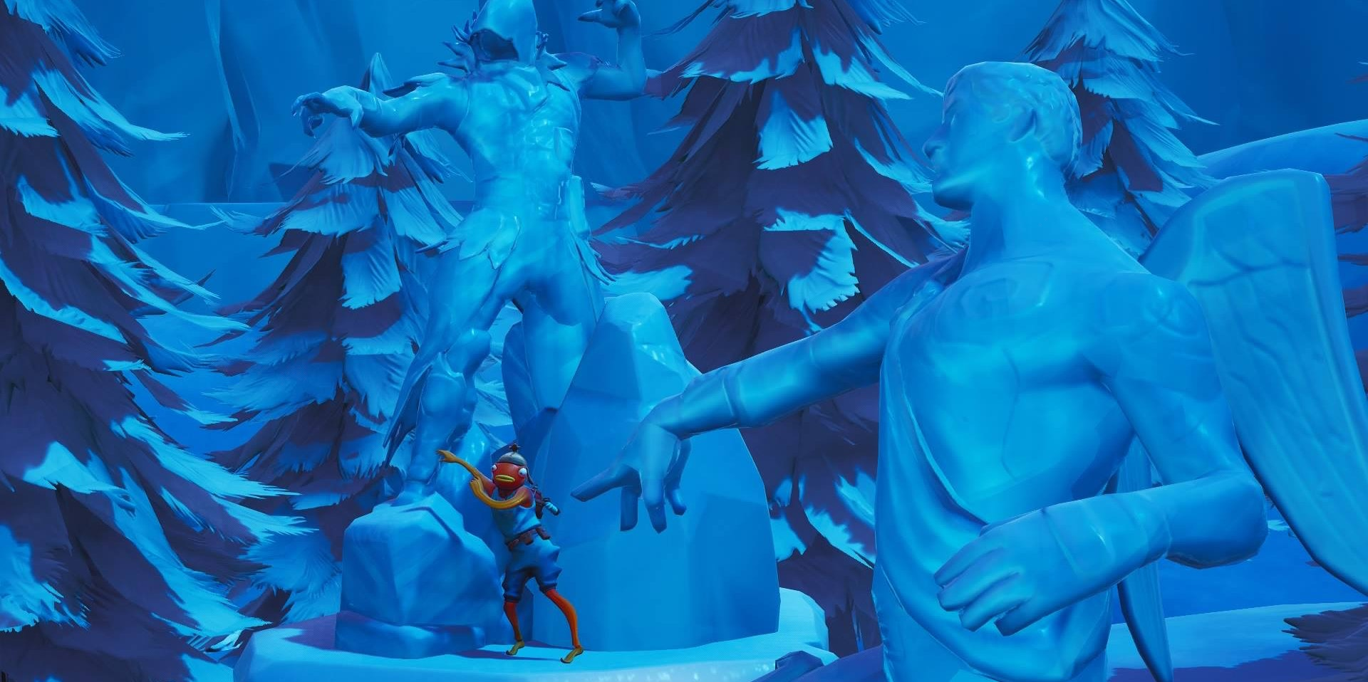'Fortnite': Where to Dance Between Ice Sculptures, Dinosaurs, & Hot Springs