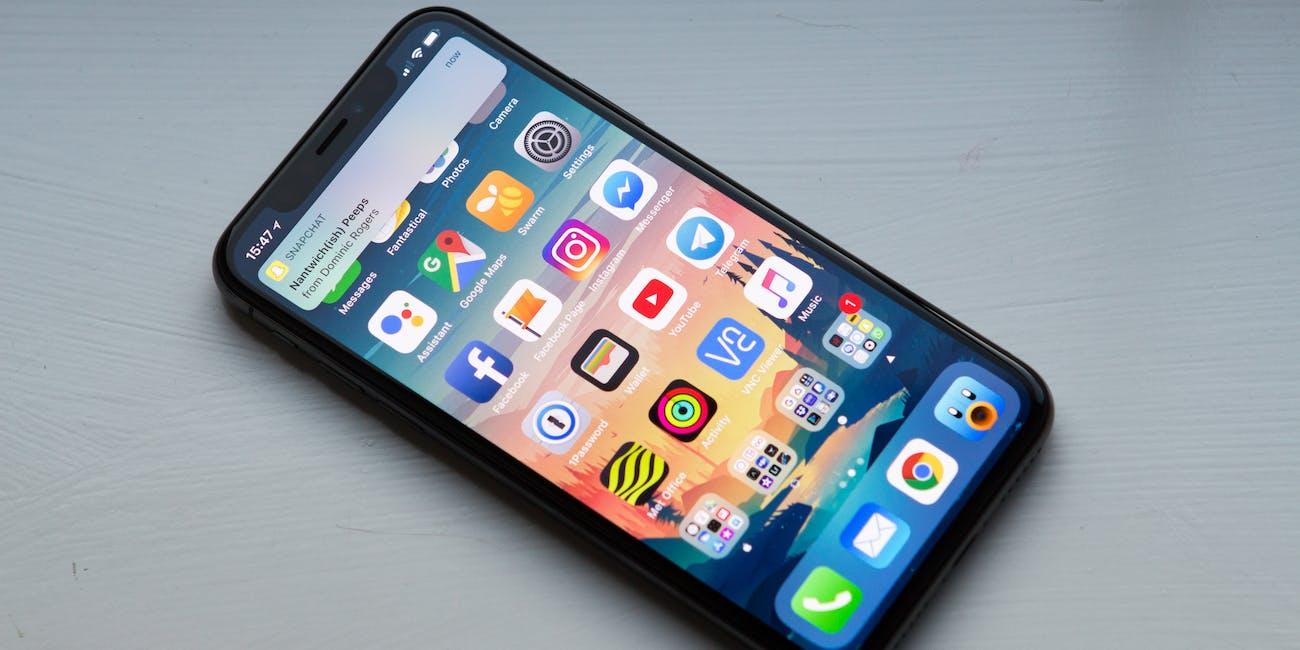 iPhone X - Notification