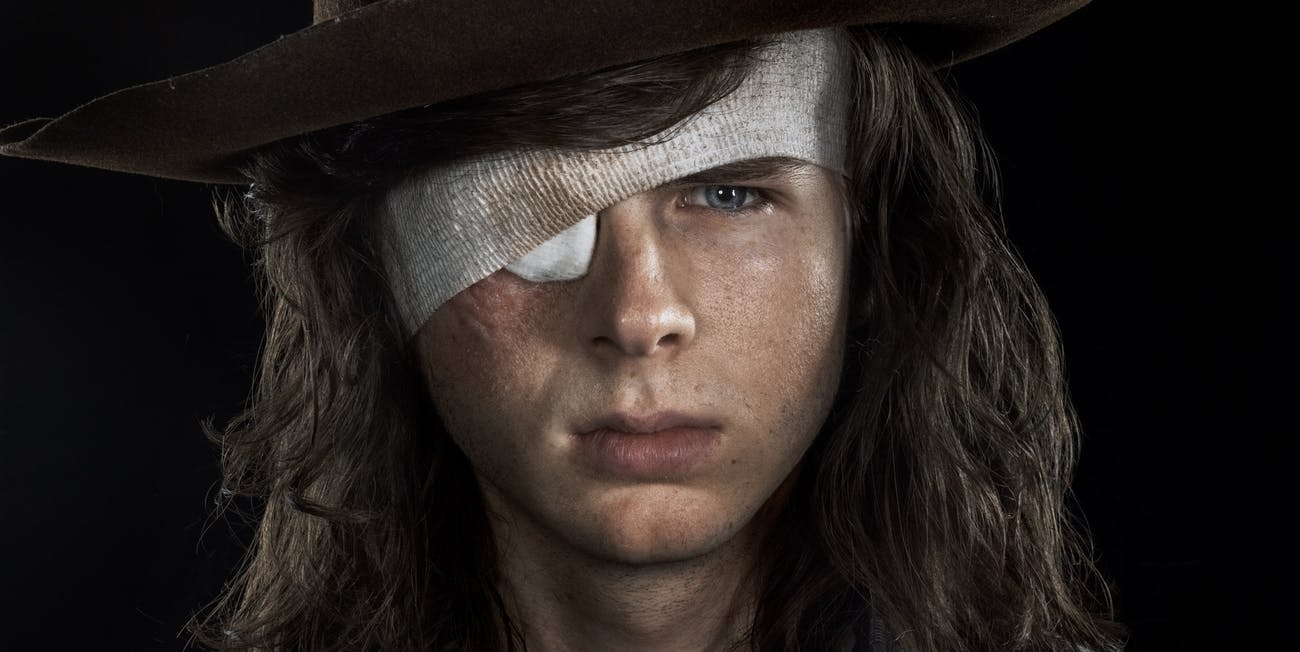 The Walking Dead Chandler Riggs Carl Season 8