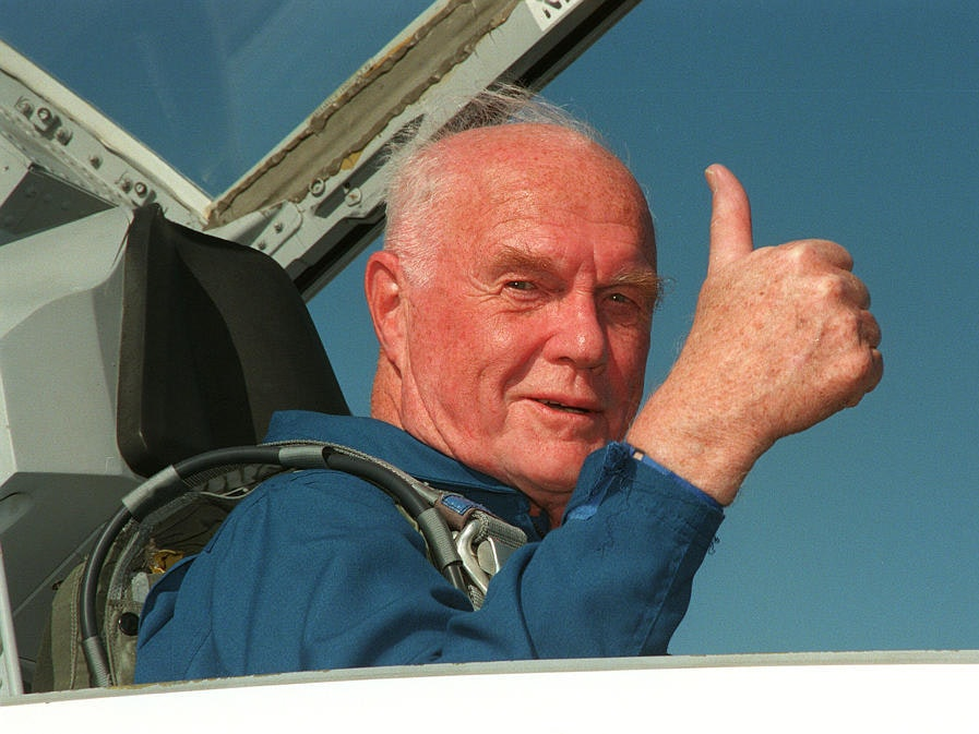 The 15 Most Badass Pictures of the Late, Great, John Glenn