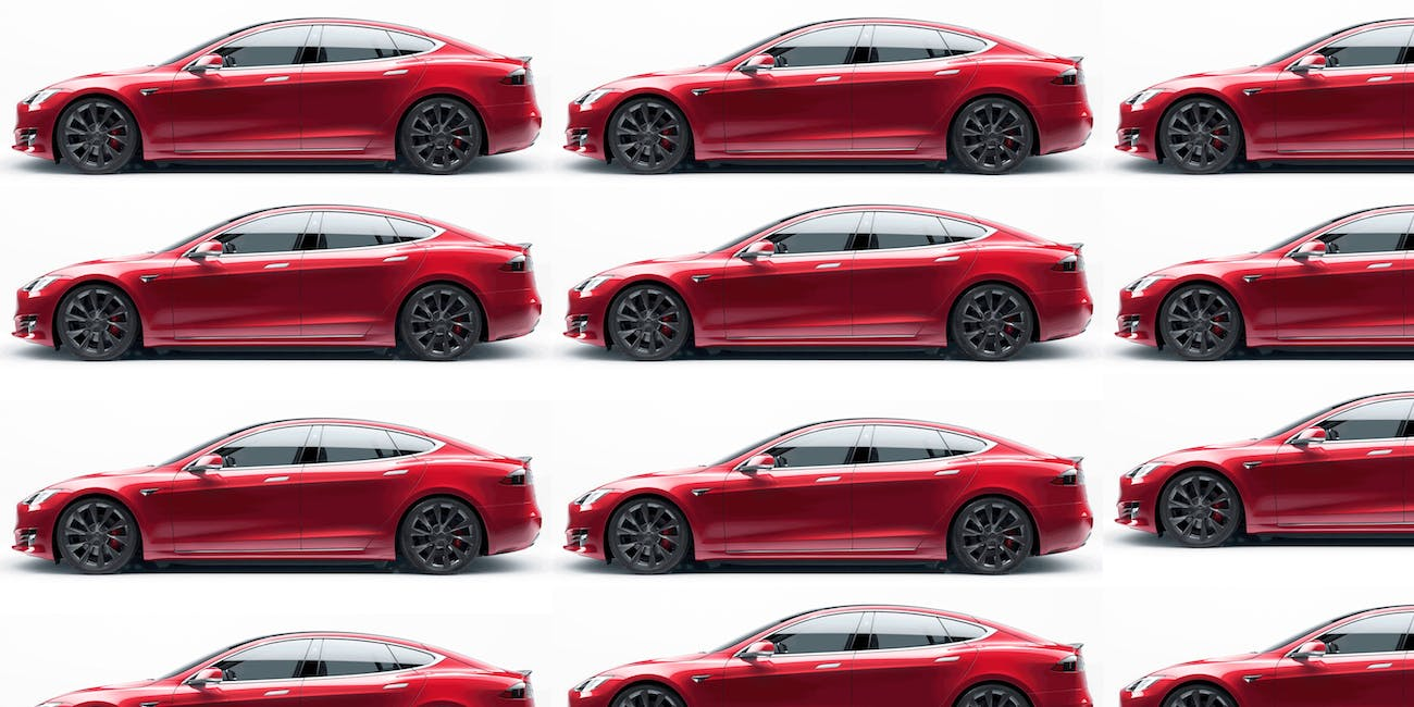 Tesla has hit a milestone: 300,000 vehicles produced.
