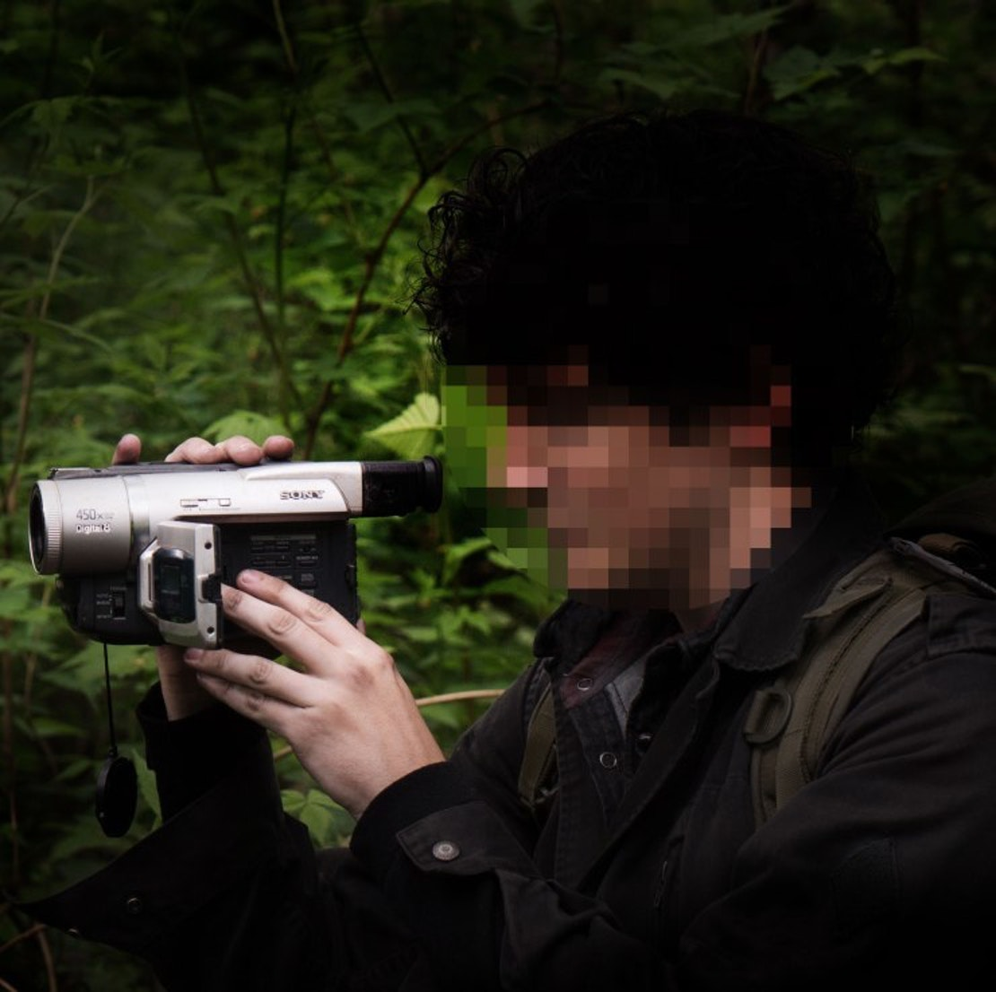 Blair Witch character Lane, aka darknet666, played by Wes Robinson.