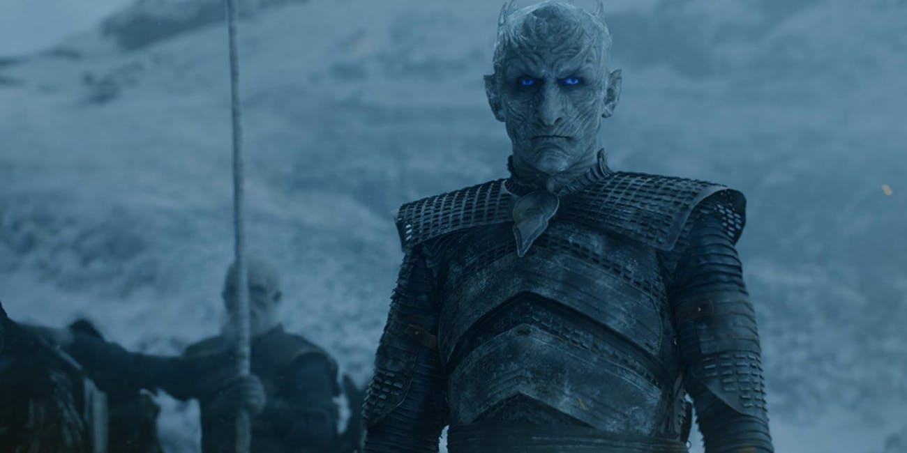 The Night King (Vladimir Furdik) fights beyond the Wall on 'Game of Thrones' Season 7
