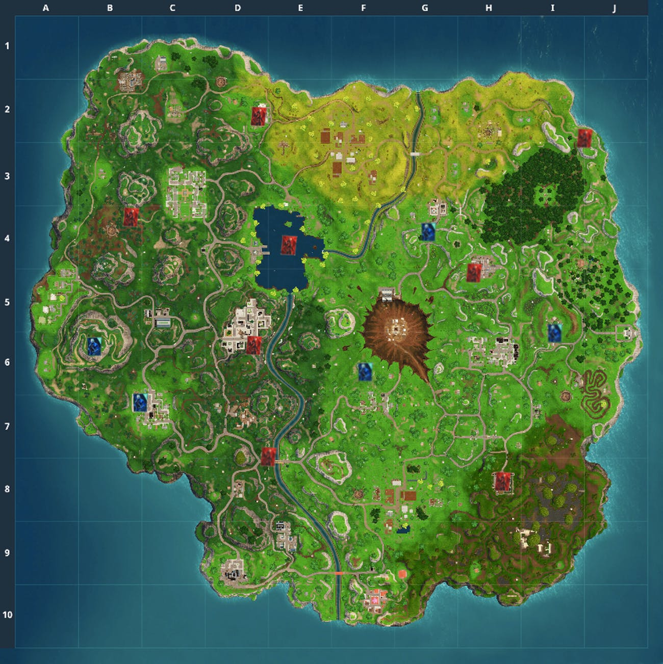 The 'Fortnite' Week 6 Challenge has you spray paint over posters at these locations.