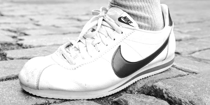 Weston Green's Nike Cortezs