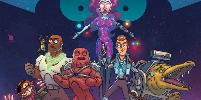 A new team of Vindicators is coming to 'Rick and Morty' comics.