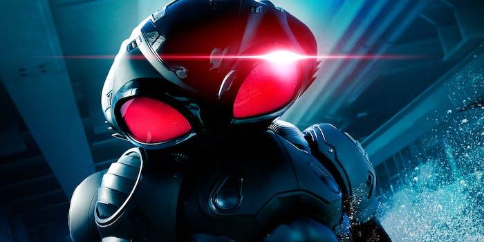 Aquaman Black Manta Poster