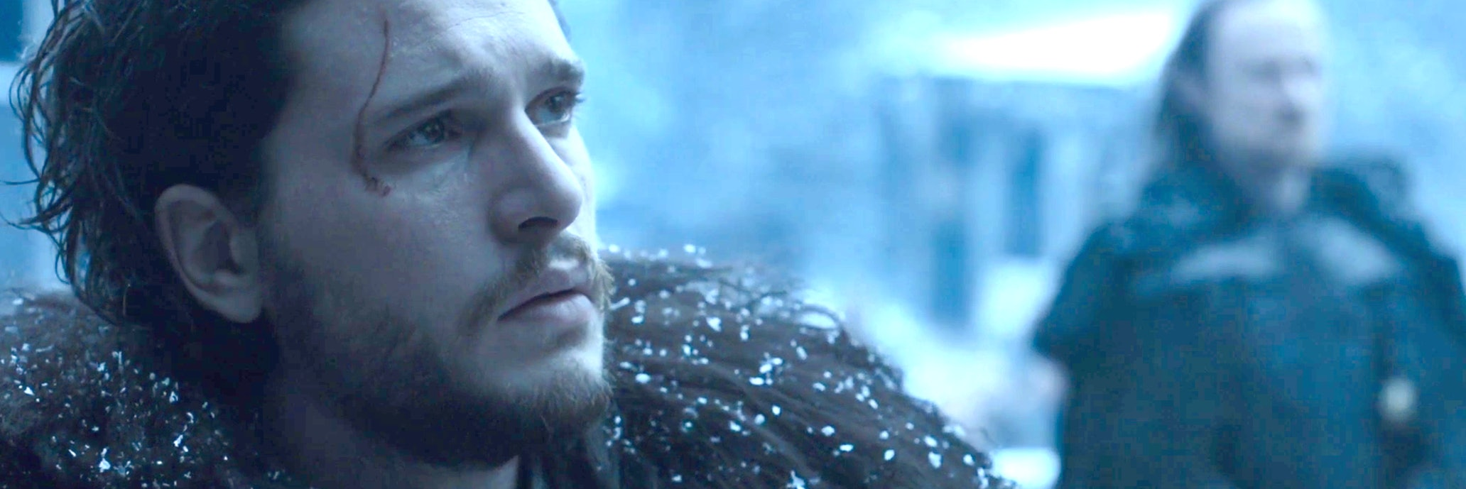 Jon Snow fights White Walkers in 'Game of Thrones'