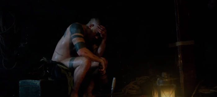 Tom Hardy has sex magic in 'Taboo'
