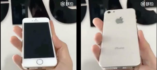 iphone se2 leaked images rumors