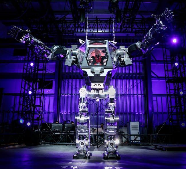 Jeff Bezos Robot Suit