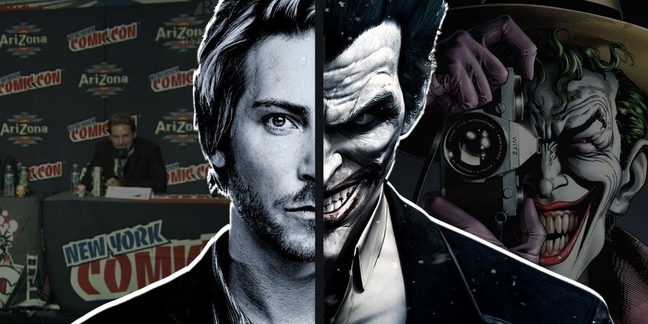 Joker How Troy Baker Convinced Comic Con He Was The Right Guy