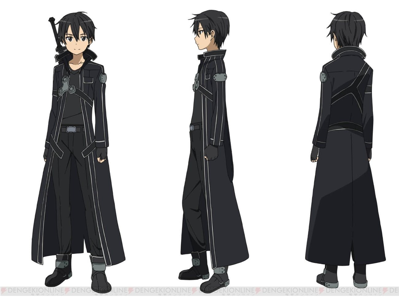Kirito is a master swordsman and loner whose good intentions and courage make him an admirable hero.