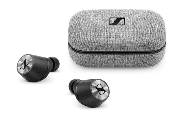 06adaebd67a Sennheiser Momentum True Wireless Bluetooth Earbuds with Fingertip Touch  Control