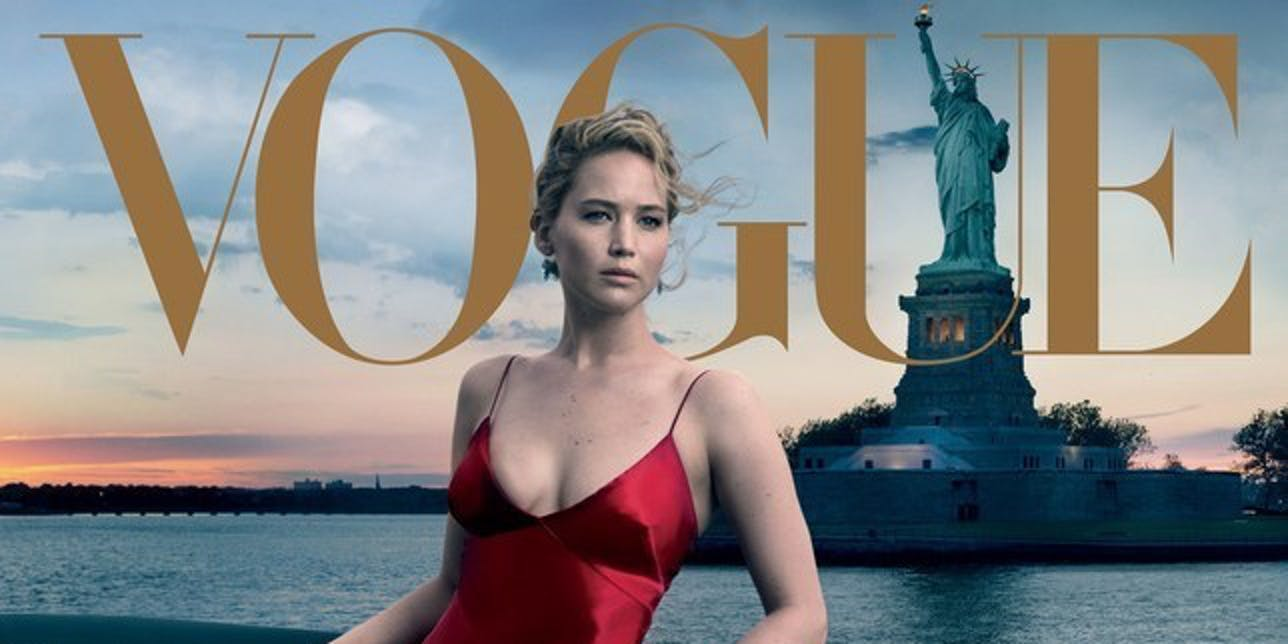 jennifer lawrence statue of liberty