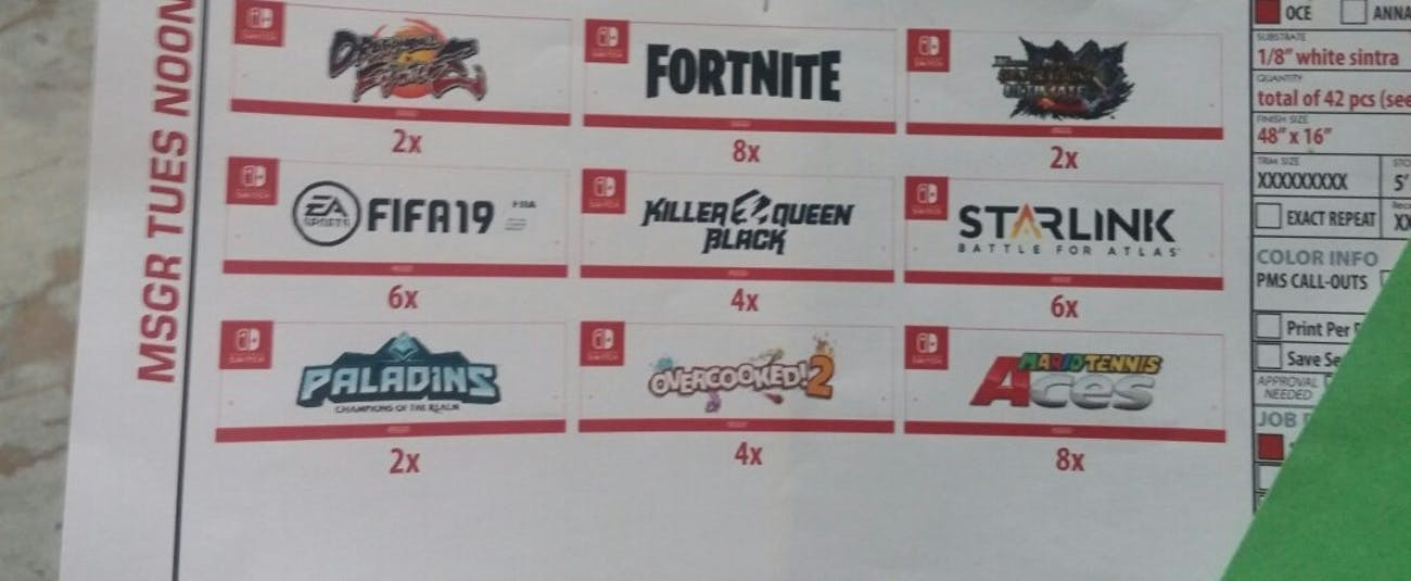 """""""Fortnite"""" as listed on the leak."""