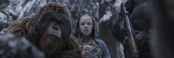 """Some humans lose the ability to speak in """"War for the Planet of the Apes."""""""