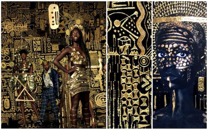 Black Panther Lina Iris Viktor