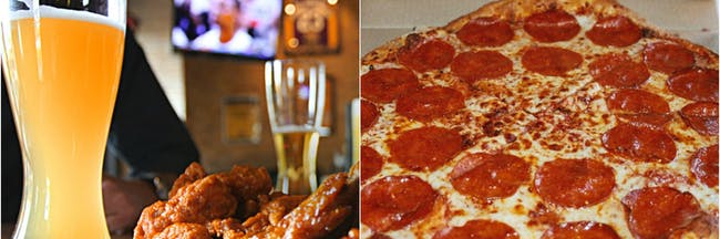 Buffalow Wild Wings and Domino's Pizza