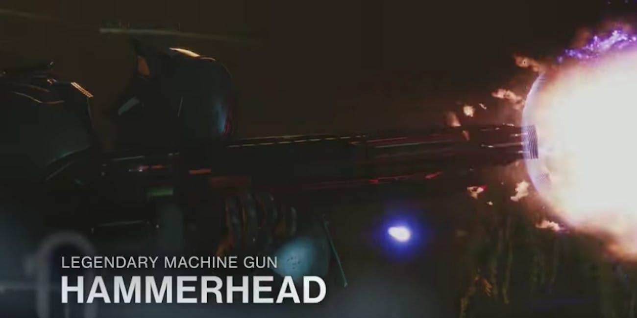 'Destiny 2' Hammerhead Machine Gun