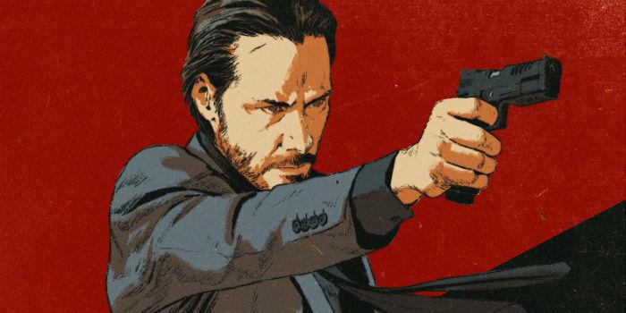 John Wick comic from Dynamite