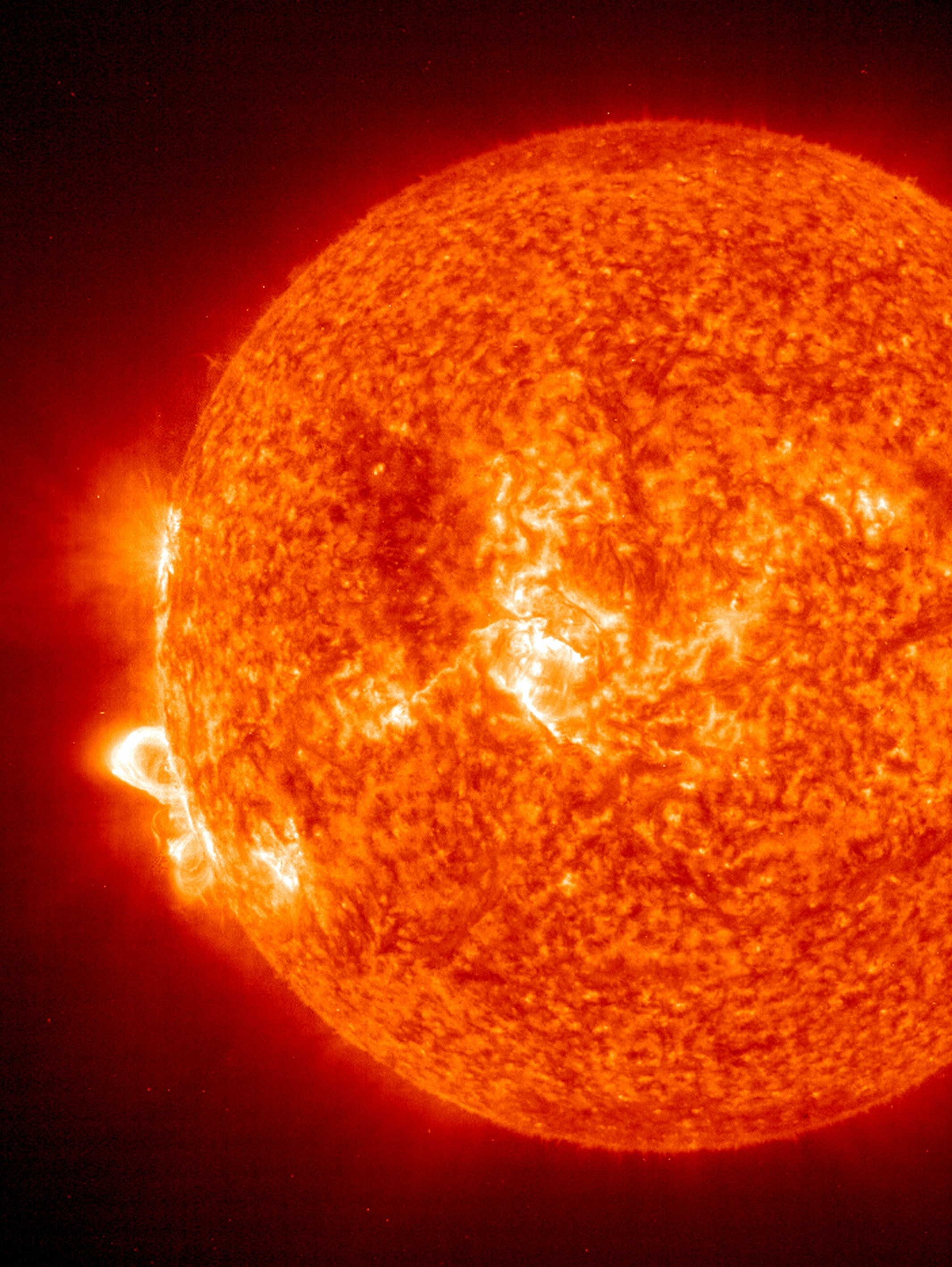 Solar storms happen often, but they rarely hit Earth.  A study published Tuesday examines scenarios of how extreme space weather events would affect the economy.