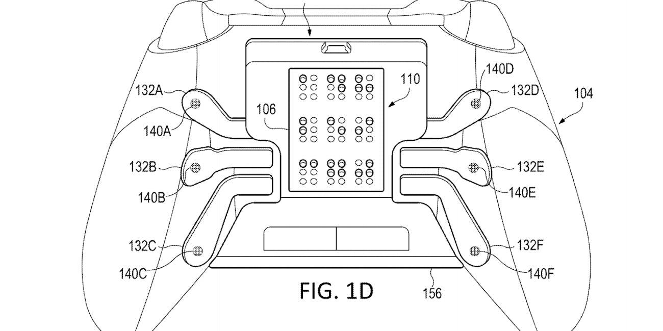 microsoft xbox controller patent