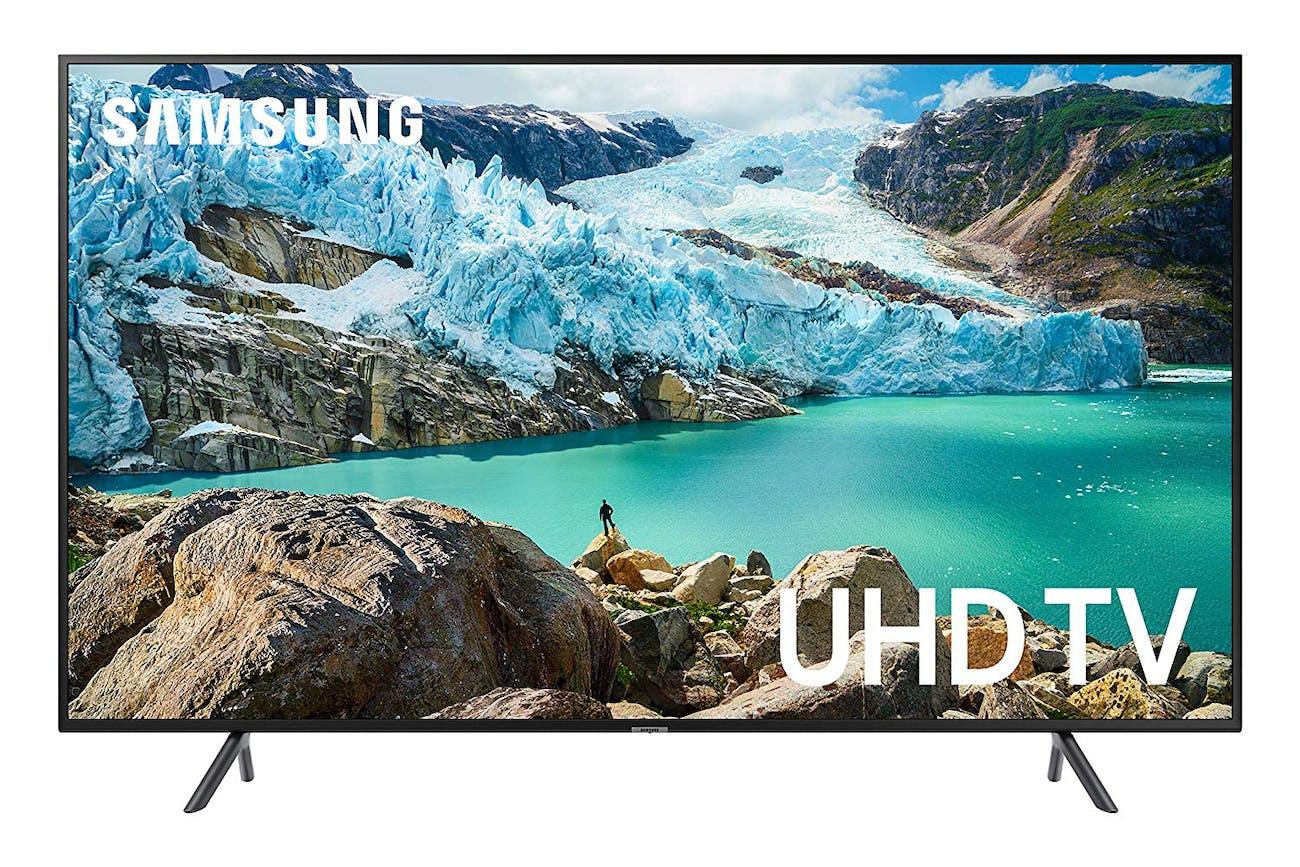 Samsung UN55RU7100FXZA Flat 55-Inch 4K UHD 7 Series Ultra HD Smart TV (2019 Model)